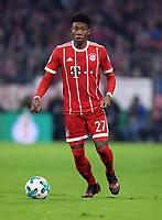 Fussball  DFB Pokal  Achtelfinale  2017/2018   FC Bayern Muenchen - Borussia Dortmund        20.12.2017 David Alaba (FC Bayern Muenchen)