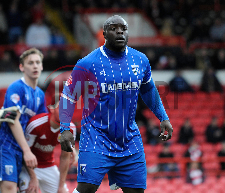 - Photo mandatory by-line: Dougie Allward/JMP - Tel: Mobile: 07966 386802 01/03/2014 - SPORT - FOOTBALL - Bristol - Ashton Gate - Bristol City v Gillingham - Sky Bet League One