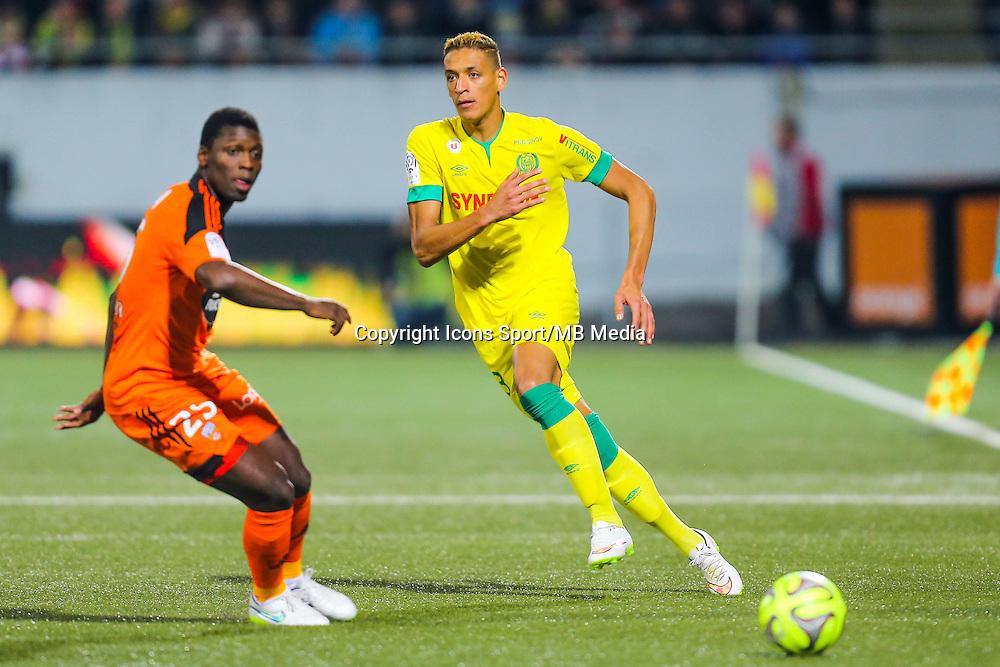 Yacine BAMMOU  - 20.12.2014 - Lorient / Nantes - 19eme journee de Ligue 1 -<br /> Photo : Vincent Michel / Icon Sport