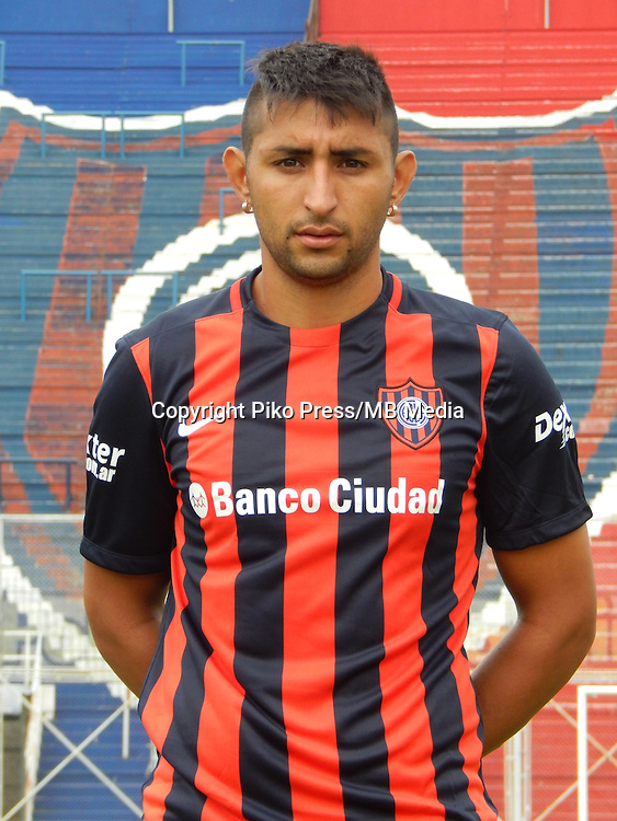 CAMPEONATO ARGENTINO Soccer / Football. <br /> SAN LORENZO de ALMAGRO Portraits <br /> Bs.As. Argentina. - April,28 , 2015<br /> Here San Lorenzo player ALAN RUIZ<br /> &copy; PikoPress