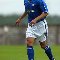 St Johnstone FC... 2003-04<br />Paul Bernard<br /><br />Picture by Graeme Hart.<br />Copyright Perthshire Picture Agency<br />Tel: 01738 623350  Mobile: 07990 594431