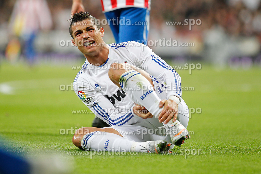 07.11.2010, Estadio Santiago Bernabeu, Madrid, ESP, Primera Division, Real Madrid vs Atletico Madrid, im Bild Cristiano Ronaldo. EXPA Pictures © 2010, PhotoCredit: EXPA/ Alterphotos/ Cid Fuentes +++++ ATTENTION - OUT OF SPAIN / ESP +++++