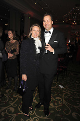 The HON.HARRY HERBERT and CARLA BAMBERGER at the annual Cartier Racing Awards held at the Grosvenor House Hotel, Park Lane, London on 17th November 2008.