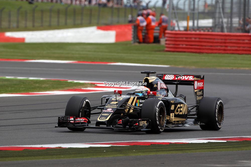 &copy; Photo4 / LaPresse<br /> 03/07/2015 Silverstone, England<br /> Sport <br /> Grand Prix Formula One England 2015<br /> In the pic: Romain Grosjean (FRA) Lotus F1 Team E23