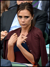 Collection : Celebs at Mens Wimbledon Final
