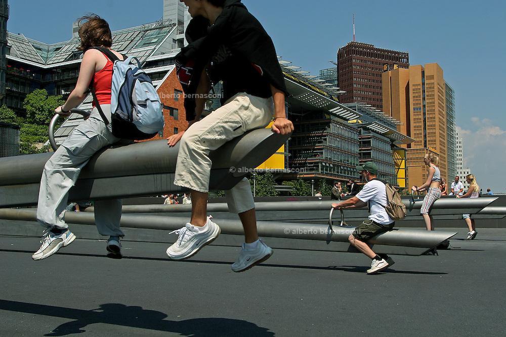 Berlino: new buildings around Potsdammer Platz