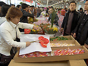 flower market Beijing China
