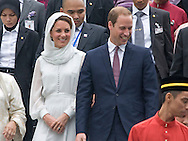 "CATHERINE, DUCHESS OF CAMBRIDGE AND PRINCE WILLIAM.visited the As Syakirin Mosque, Kuala Lumpur_14/09/2012.The Duchess covered her head with a traditional head scarf.Mandatory credit photo: ©Dias/DIASIMAGES..(Failure to credit will incur a surcharge of 100% of reproduction fees)..                **ALL FEES PAYABLE TO: ""NEWSPIX INTERNATIONAL""**..IMMEDIATE CONFIRMATION OF USAGE REQUIRED:.DiasImages, 31a Chinnery Hill, Bishop's Stortford, ENGLAND CM23 3PS.Tel:+441279 324672  ; Fax: +441279656877.Mobile:  07775681153.e-mail: info@newspixinternational.co.uk"
