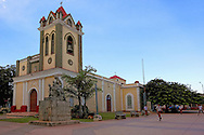 Church in Artemisa, Cuba.