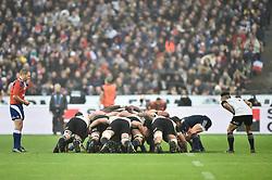 November 11, 2017 - St Denis, France - Melee France vs Nouvelle Zelande (Credit Image: © Panoramic via ZUMA Press)