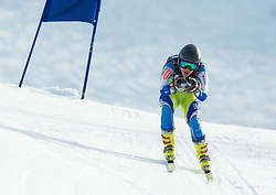 SKAZA Ziga  of Slovenia during Men's Super Combined Slovenian National Championship 2014, on April 1, 2014 in Krvavec, Slovenia. Photo by Vid Ponikvar / Sportida
