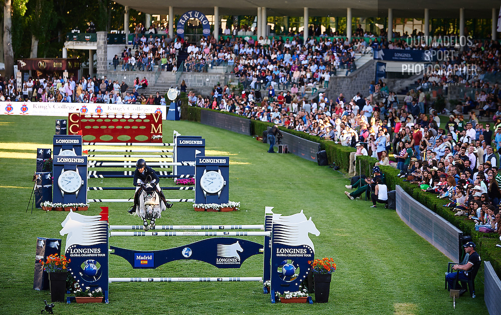 MADRID, SPAIN - MAY 03: CSI 5 de Madrid /Longines Global Champions Tour 2014 at Club de Campo Villa de Madrid on May 03, 2014 in Madrid, Spain. (Photo by Manuel Queimadelos)