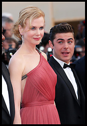 Nicole Kidman  and Zac Efron arriving for the premiere of  their  new film The Paperboy  at the Cannes Film Festival, Thursday, 24th May 2012. Photo by: Stephen Lock / i-Images