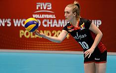 20140808 NED: FIVB Grand Prix Belgie - Polen, Doetinchem