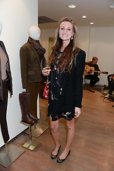 BRIONY DANIELS at a preview evening of the Leon Max Autumn Winter Collection 2013 held at Leon Max, 229 Westbourne Grove, London W11 on 24th September 2013.