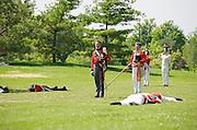 The Battle of Crysler's Farm  British commander Kevin Windsor seeks parley with U.S. commander.  The Battle of Crysler's Farm.