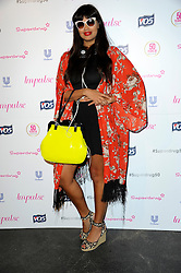 Image ©Licensed to i-Images Picture Agency. 10/06/2014. London, United Kingdom. Jameela Jamil arriving at the Superdrug 50th Anniversary Party at The Bankside Vaults, Southbank. Picture by Chris Joseph / i-Images