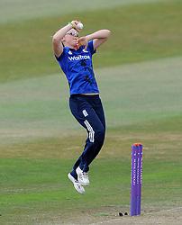 England's Heather Knight - Photo mandatory by-line: Harry Trump/JMP - Mobile: 07966 386802 - 21/07/15 - SPORT - CRICKET - Women's Ashes - Royal London ODI - England Women v Australia Women - The County Ground, Taunton, England.