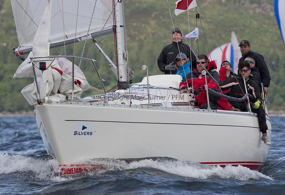 Silvers Marine Scottish Series 2017<br /> Tarbert Loch Fyne - Sailing Day 3<br /> <br /> GBR8856Y, Mayrise, James Miller, Helensburgh SC