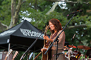 Sarah Lee Guthrie, Arlo Guthrie's daughter, opens the show.
