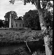 A Churchyard at Stoneyford, Co. Kilkenny. 05/07/1953