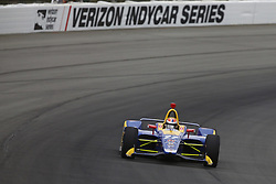 August 19, 2018 - Long Pond, Pennsylvania, United Stated - ALEXANDER ROSSI (27) of the United States take to the track for the ABC Supply 500 at Pocono Raceway in Long Pond, Pennsylvania. (Credit Image: © Chris Owens Asp Inc/ASP via ZUMA Wire)