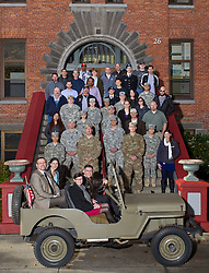 Veterans Day at PLU on Wednesday, Nov. 11, 2015. (Photo/John Froschauer)