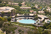 The Coliseum Pool at The Resort at Pelican Hill in Newport Coast California