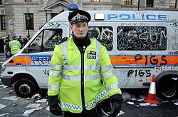 © under license to London News Pictures. Picture dated 21/11/2010 The government is planning to cut its funding for the police by 20% by 2015 it announced today (02/03/11).  Picture credit should read Grant Falvey/London News Pictures