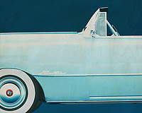 If you want to give a retro look to your interior, this painting of the classic Pontiac Chieftain is your thing.<br />
