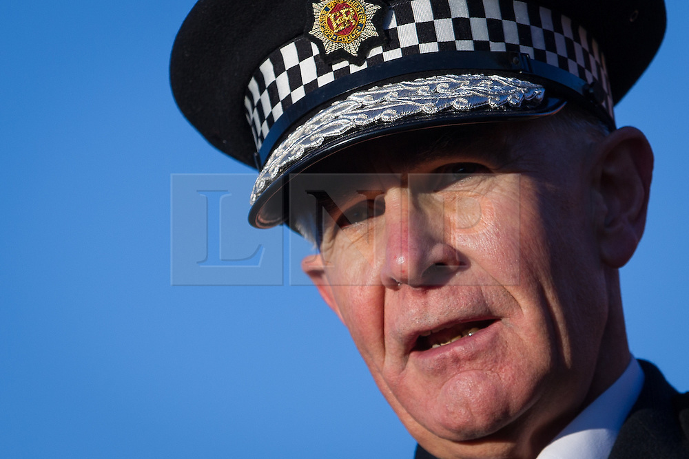 "© Licensed to London News Pictures . FILE PICTURE DATED 13/12/2012 of Greater Manchester Police's Chief Constable SIR PETER FAHY who has today (12th March 2013) said that the ""failings identified in the Jimmy Saville case could happen all over again"" and that ""fundamental, underlying issues"" about similar serial sex offenders were not being addressed . Photo credit : Joel Goodman/LNP"