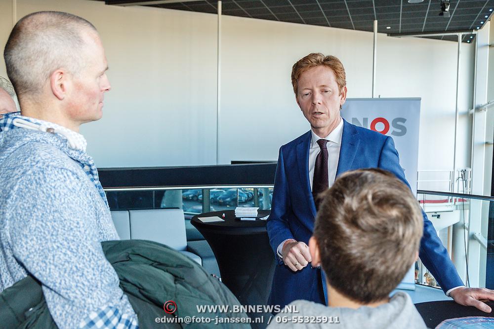 NLD/Hilversum/20160110 - NOS Journaal bestaat60 jaar en viert dit met Festival van het Nieuws, Gerrit Hiemstra
