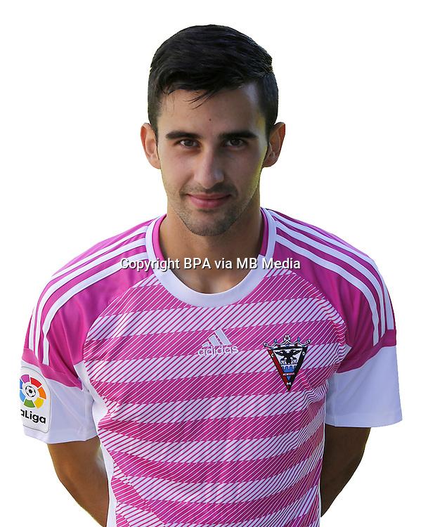 Spain - La Liga B 123 _ 2016-2017 / <br /> ( C.D. Mirandes ) - <br /> Sergio Perez Leyva &quot; Sergio Perez &quot;