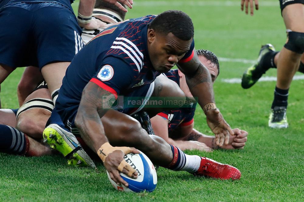 France's Virimi Vakatawa during autumn rugby test match France v New Zealand at the Stade de France in St-Denis, France, on November 26, 2016. New Zealand won 24-19. Photo by Henri Szwarc/ABACAPRESS.COM