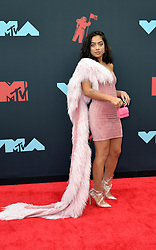 August 26, 2019, New York, New York, United States: Kiana Lede arriving at the 2019 MTV Video Music Awards at the Prudential Center on August 26, 2019 in Newark, New Jersey  (Credit Image: © Kristin Callahan/Ace Pictures via ZUMA Press)