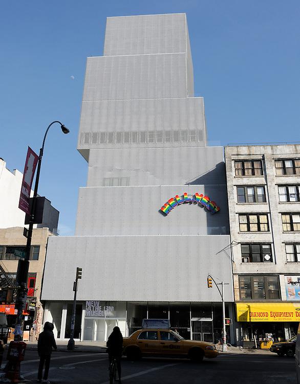 New Museum, 235 Bowery, Bowery, Manhattan, New York, New York, USA