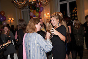 VICTORIA MATHER; AMBER NUTTALL, Kate Reardon and Michael Roberts host a party to celebrate the launch of Vanity Fair on Couture. The Ballroom, Moet Hennessy, 13 Grosvenor Crescent. London. 27 October 2010. -DO NOT ARCHIVE-© Copyright Photograph by Dafydd Jones. 248 Clapham Rd. London SW9 0PZ. Tel 0207 820 0771. www.dafjones.com.