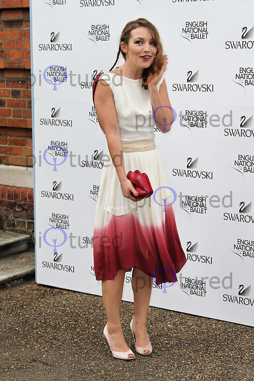 LONDON - JUNE 27: Perdita Weeks attended the English National Ballet Summer Party, The Orangery, Kensington Palace, London, UK, June 27, 2012.(Photo by Richard Goldschmidt)