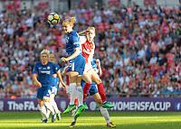 Football - SSE Women's FA Cup Final - Arsenal Women vs. Chelsea Ladies<br /> <br /> Magdalena Eriksson (Chelsea Ladies FC) clears from an Arsenal Ladies cross at Wembley Stadium.<br /> <br /> COLORSPORT/DANIEL BEARHAM