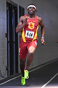 Feb 25, 2017; Seattle, WA, USA; Zyaire Clemes of Southern California places third in the 400m in 46.74 during the MPSF Indoor Championships at the Dempsey Indoor.