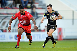 George Ford of Bath Rugby - Mandatory byline: Patrick Khachfe/JMP - 07966 386802 - 10/01/2016 - RUGBY UNION - Stade Mayol - Toulon, France - RC Toulon v Bath Rugby - European Rugby Champions Cup.
