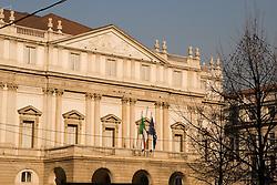 La Scalla / Teatro alla Scala, Milan's Opera House, Milan, Italy / Italia December 6, 2007.