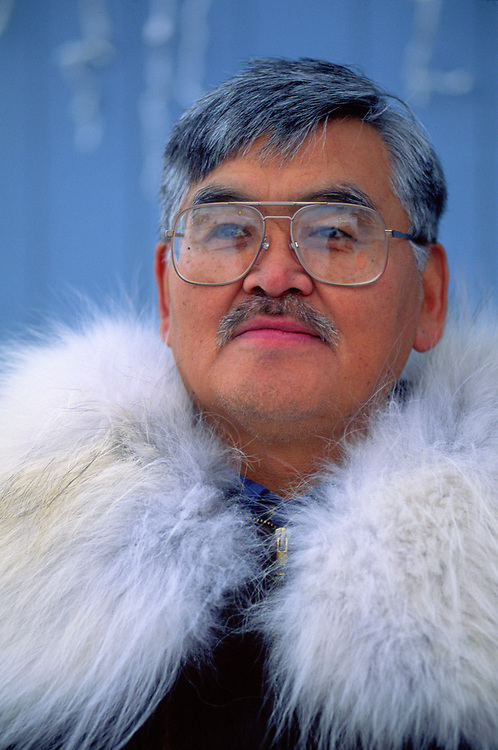 Barrow, Alaska. Inupiat leader.