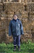 Mezzojuso, azienda agricola delle sorelle Napoli,  Irene Napoli.<br /> Mezzojuso, Sicily, Napoli sisters farm, Irene.