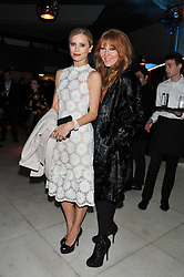 Left to right, LAURA BAILEY and CHARLOTTE TILBURY at the Vogue Festival Party 2013 in association with Vertu held at the Queen Elizabeth Hall, Southbank Centre, London SE1 on 27th April 2013.