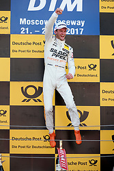 July 23, 2017 - Moskau, Russia - Motorsports: DTM Moskau 2017,.Maro Engel. (Credit Image: © Hoch Zwei via ZUMA Wire)