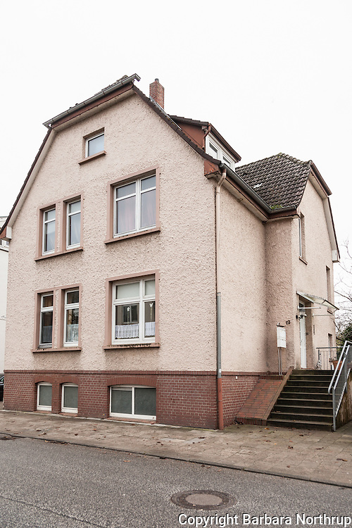 Eutin, Germany.  Kurt, Harold and Klaus were born in this Family Home.  The family lived there  for more than 30 years until approx. 1962-63. #12 Friedrich Strasse