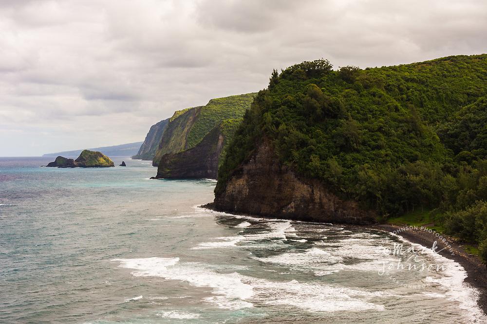 Pololu Beach & Valley, Big Island, Hawaii