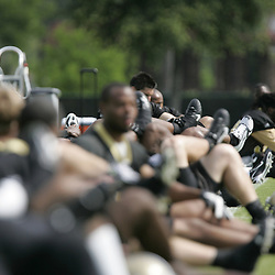 2008 May 21: of the New Orleans Saints during team organized activities at their training facility in Metairie, LA. .