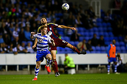 Stephen Quinn of Reading heads the ball over Cole Skuse of Ipswich Town - Mandatory by-line: Jason Brown/JMP - 09/09/2016 - FOOTBALL - Madejski Stadium - Reading, England - Reading v Ipswich Town - Sky Bet Championship